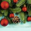 Ограждение Декор на дереве бирюза