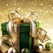 Ограждение Золотая феерия зеленый подарок