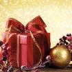 Ограждение Золотая феерия красный подарок